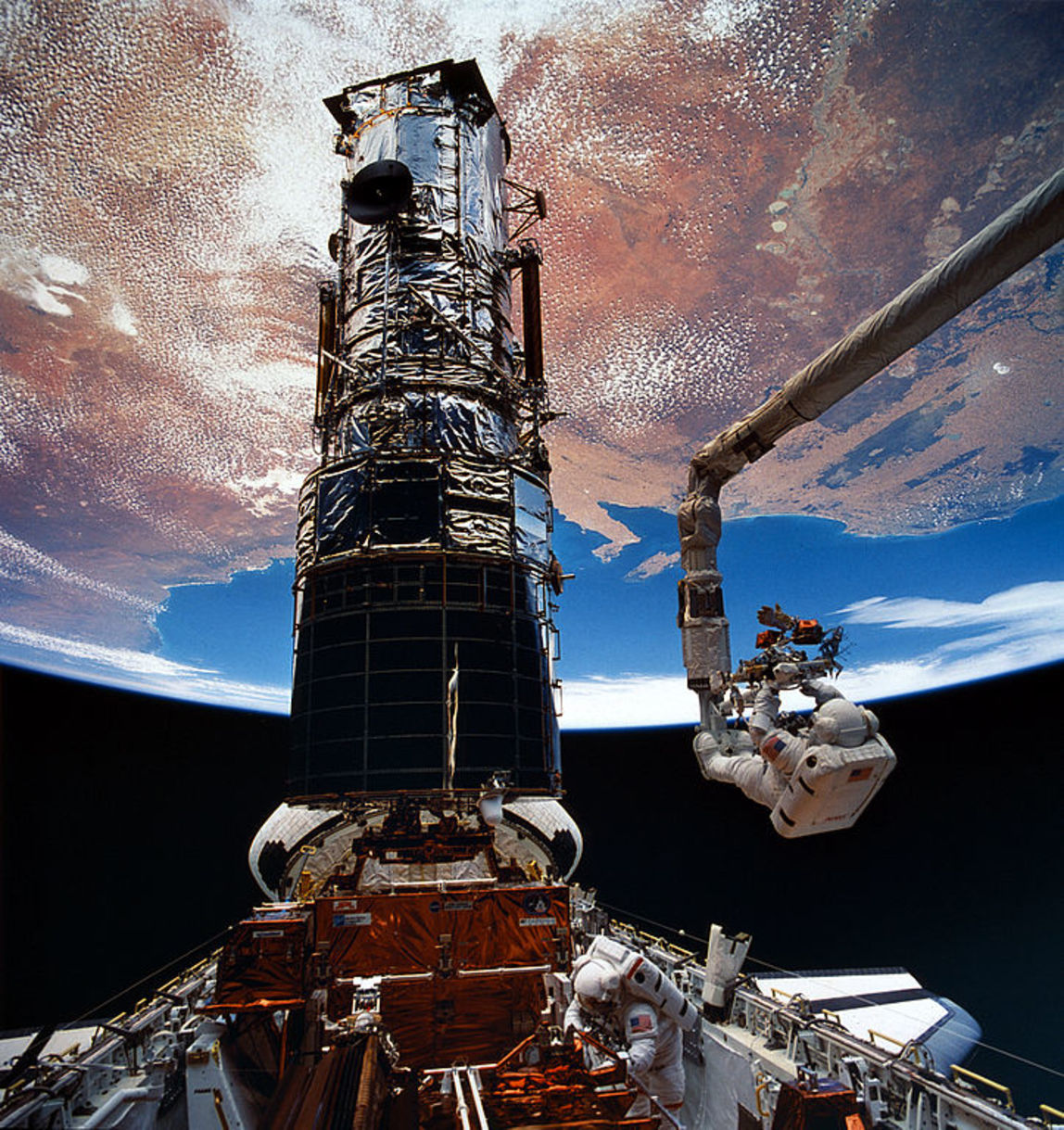On April 24, 1990, the Hubble Space telescope was launched into low Earth orbit to reveal the