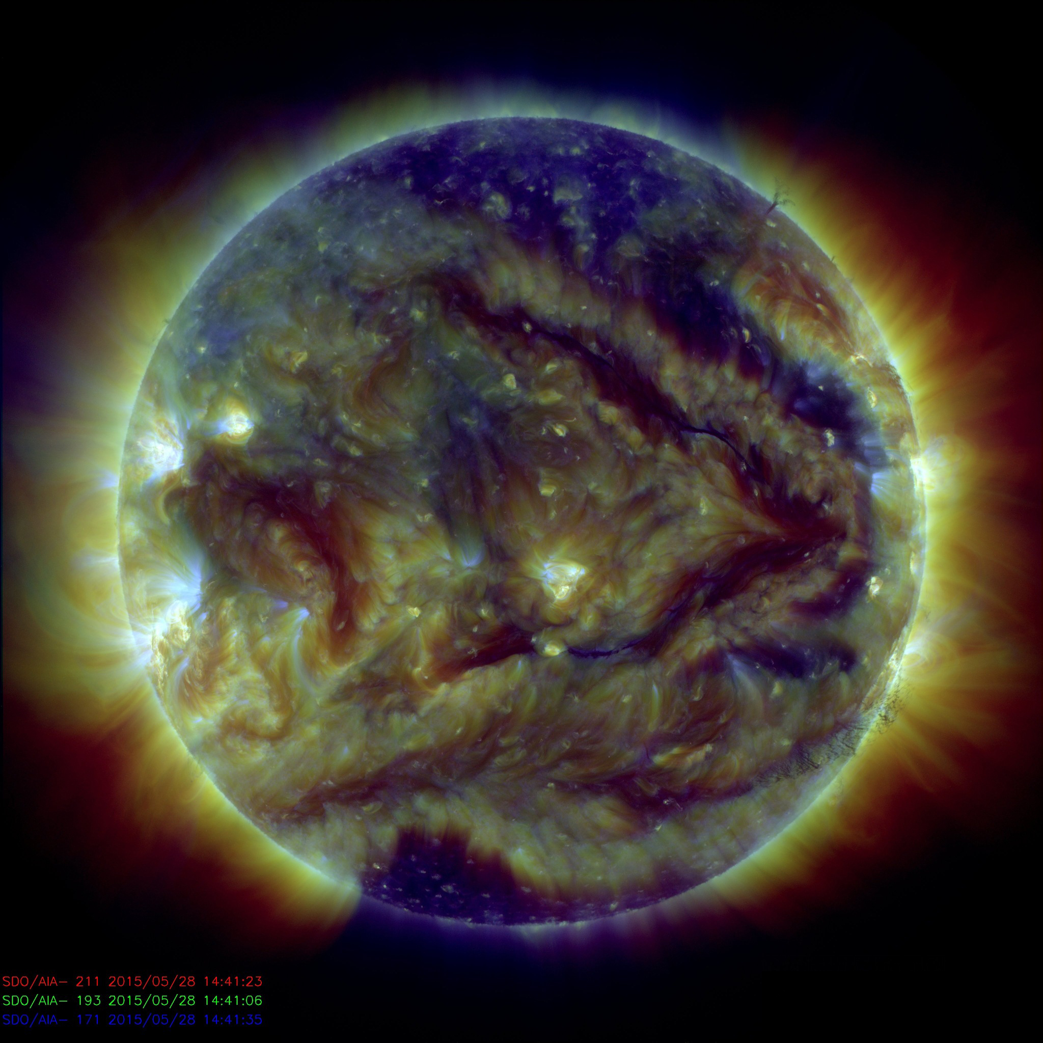 nasa satellite to the sun - HD 1024×1024