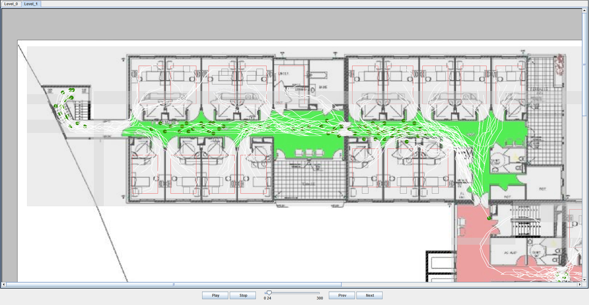 Improved planning for the evacuation of buildings for Construction site plan software