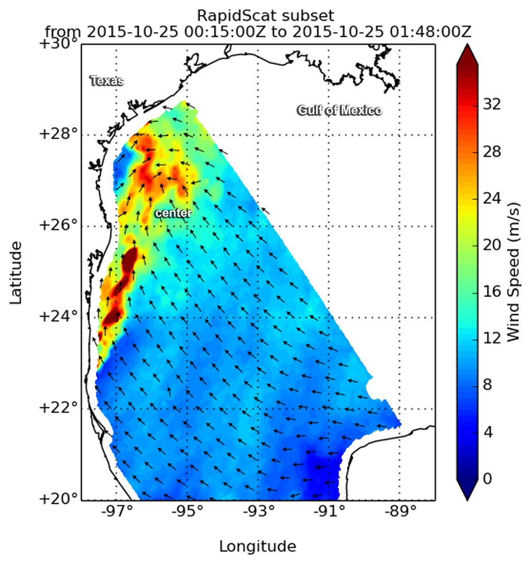 NASA Tracks Hurricane Patricias Remnants Through Gulf States