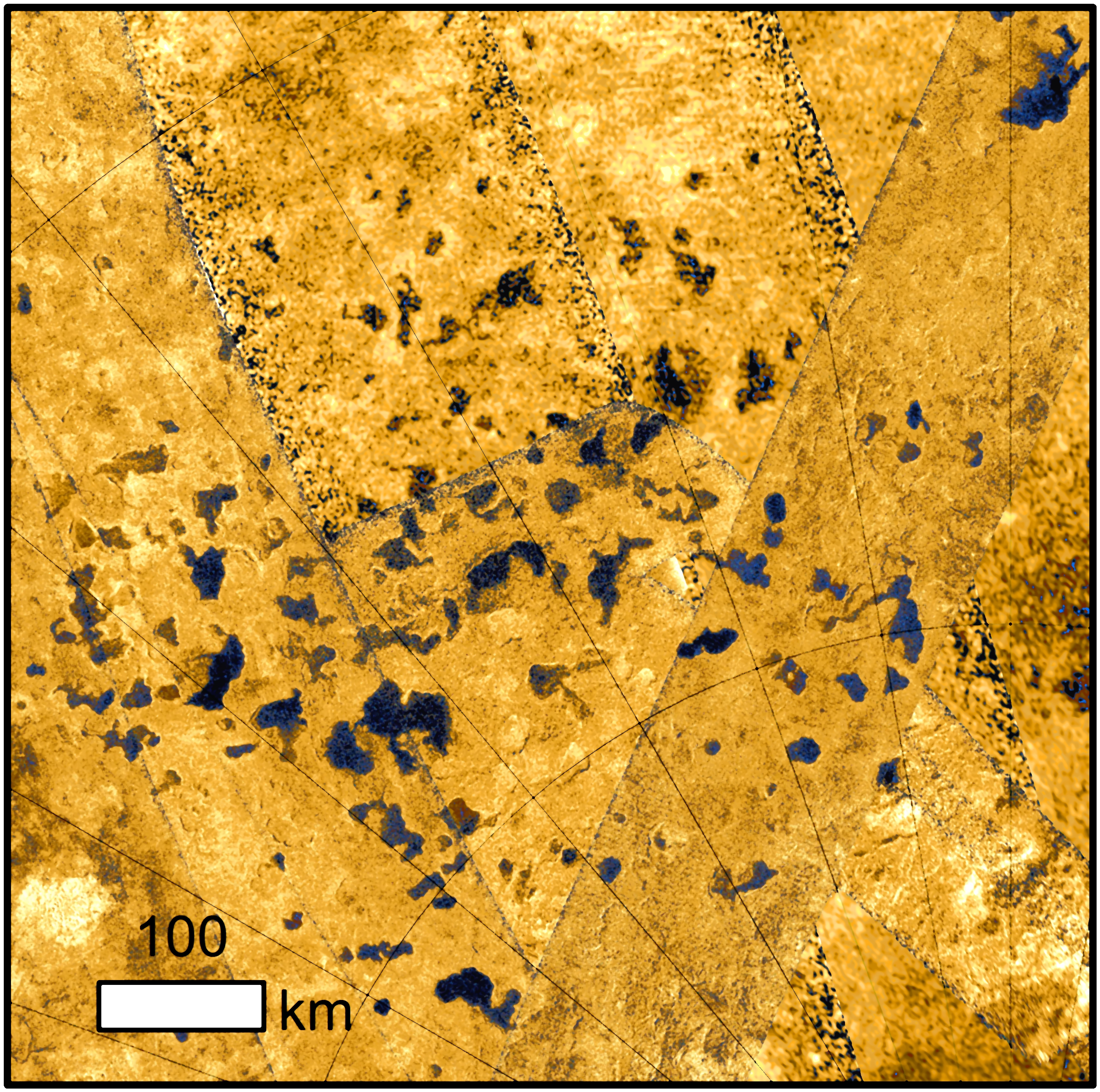 Titan S Surface Dissolves Like Sinkholes On Earth