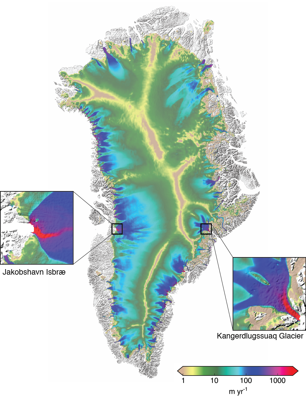 model used to estimate antarctic ice sheet melting the parallel ice sheet model can also simulate the movement of ice in arctic glaciers and ice sheets like the greenland ice sheet credit andy aschwanden
