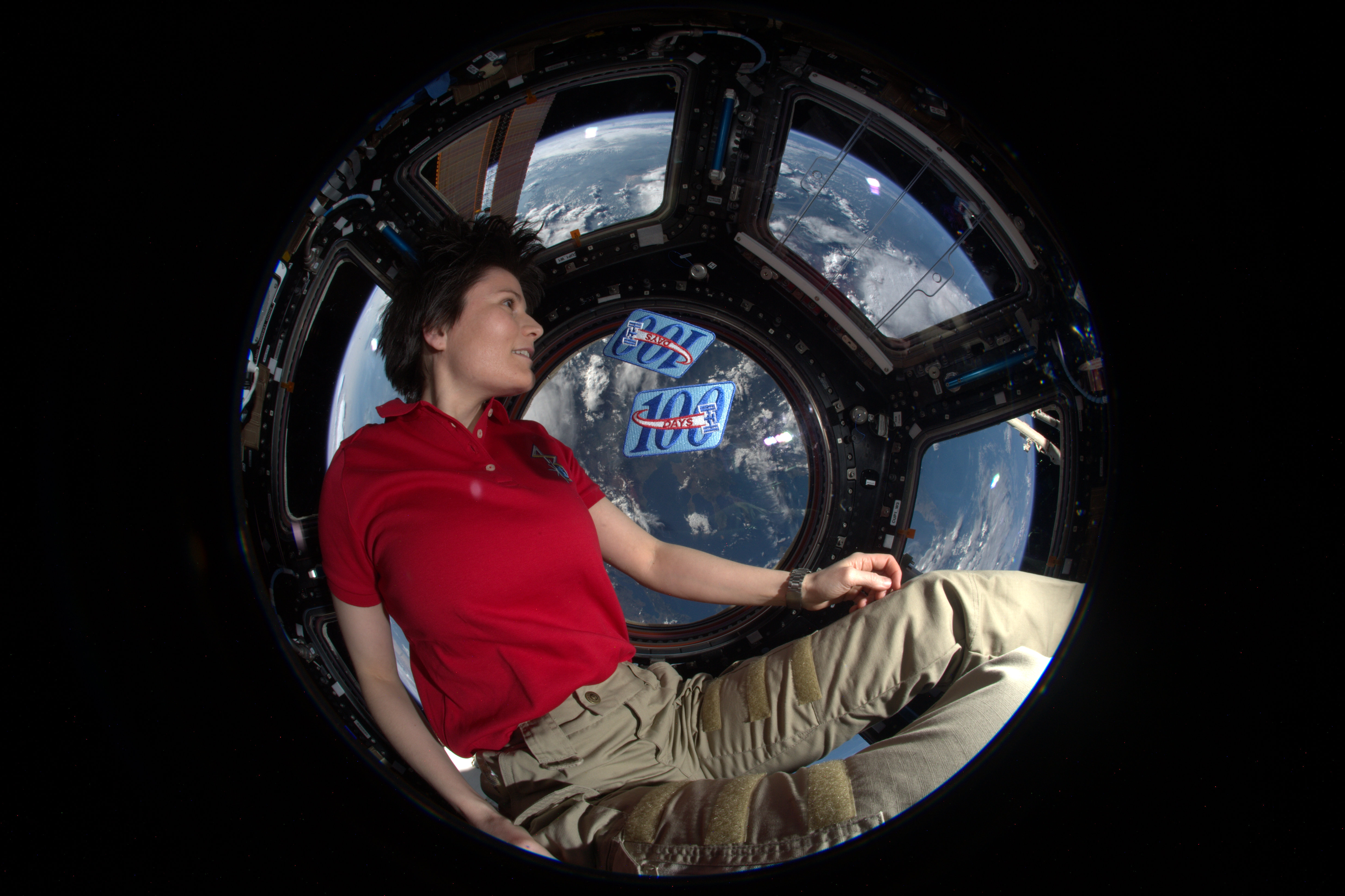 Esa Astronaut Samantha Cristoforetti Back On Earth