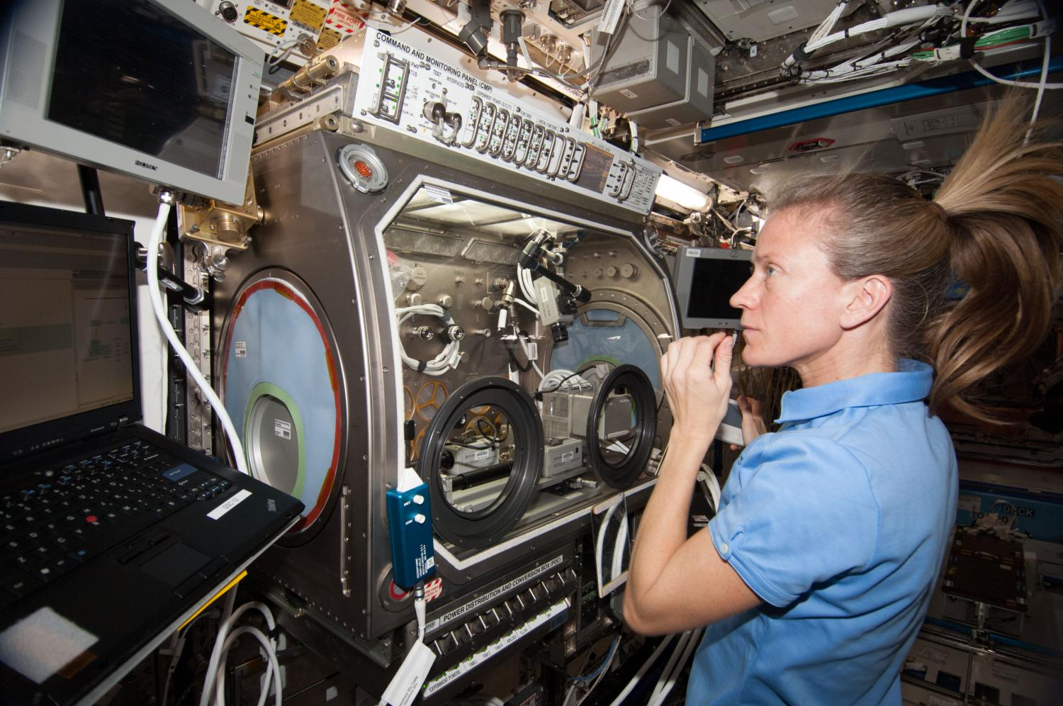 scientific experiments in international space station International space station at the international space station (iss) flying 400 kilometers above the earth, astronauts reside and perform various scientific experiments.
