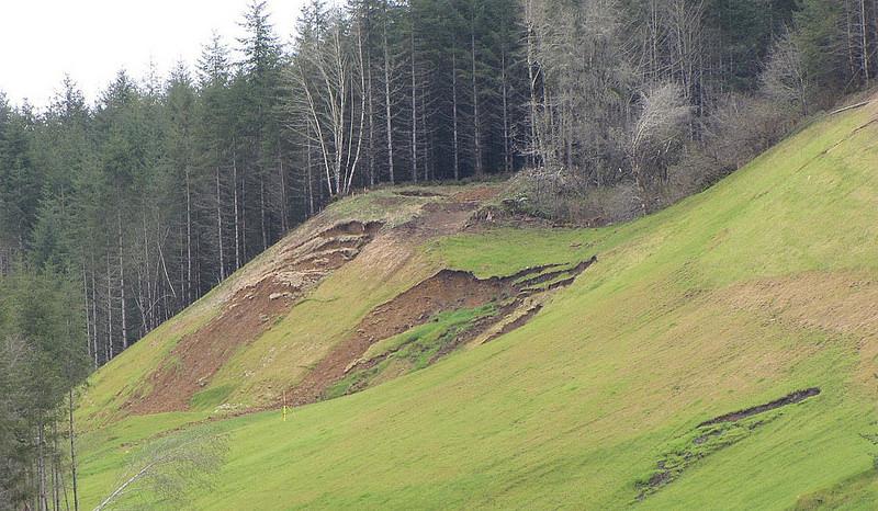 Map Outlines Western Oregon Landslide Risks From A Subduction Zone