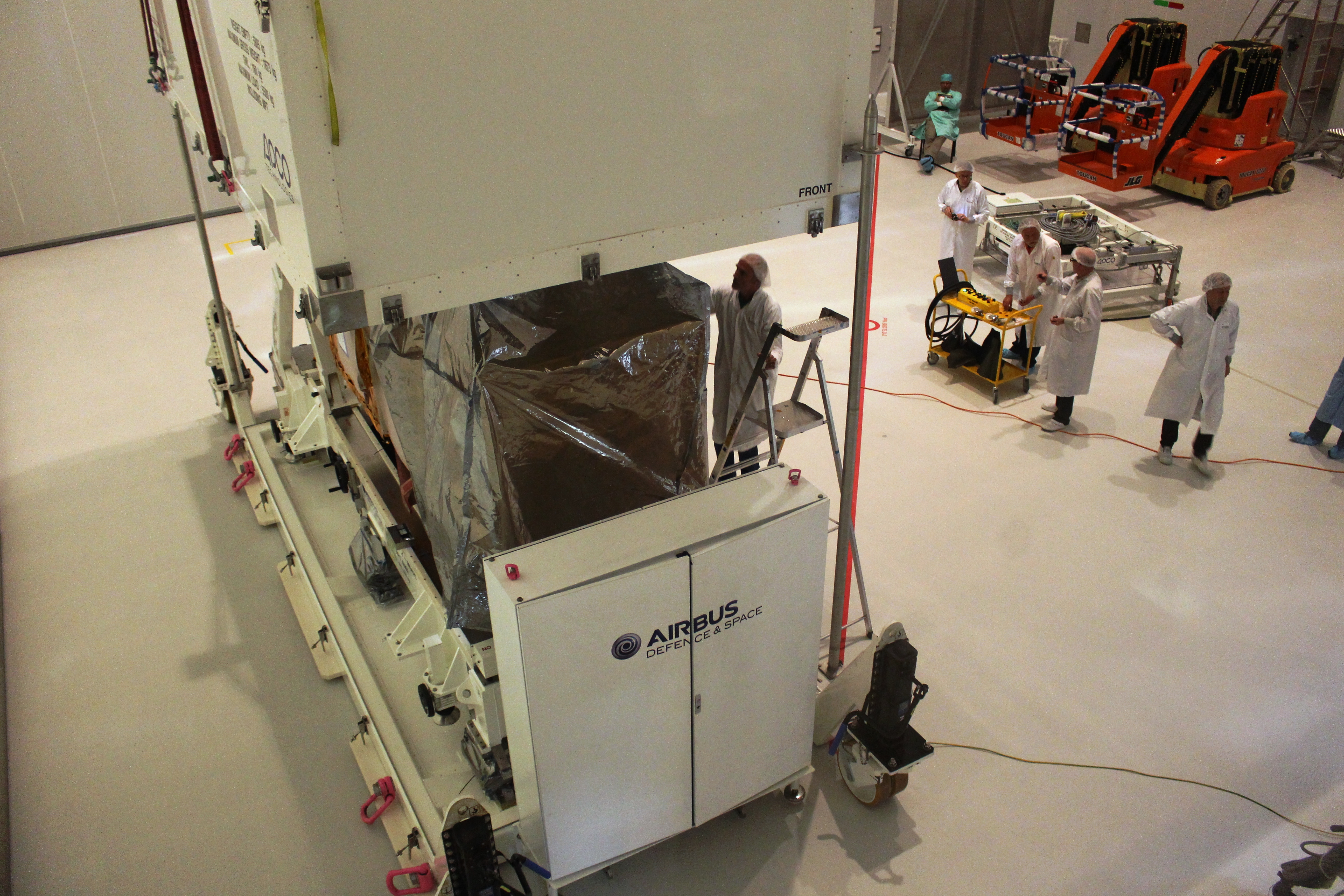 Sentinel 2a Arrives In French Guiana For 12 June Launch Electrical Wiring