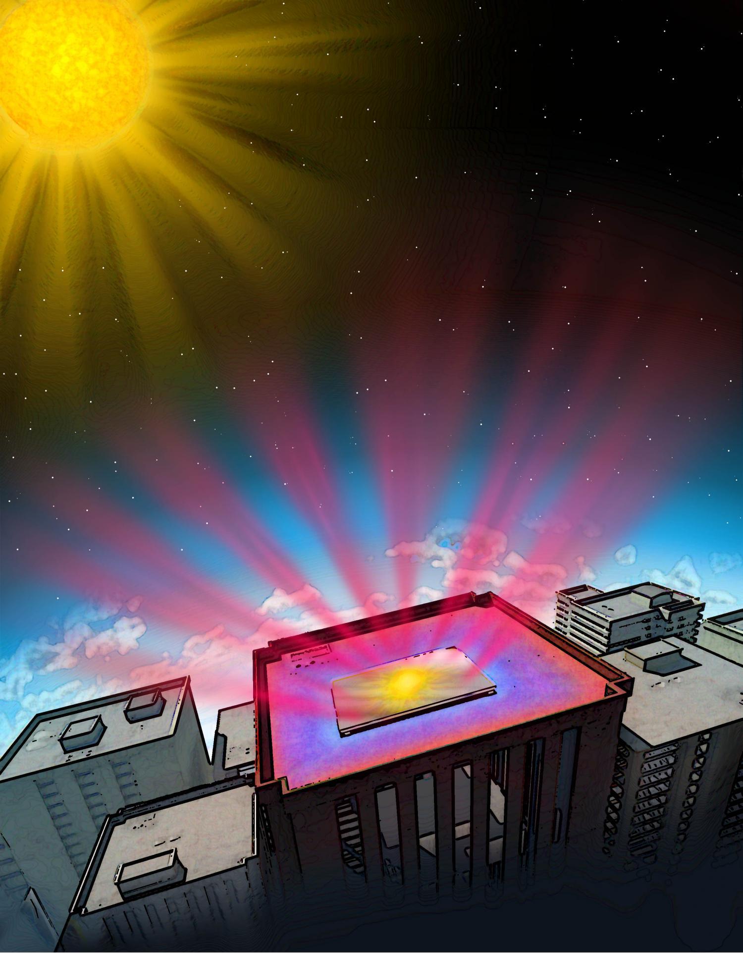 engineers invent transparent coating that cools solar