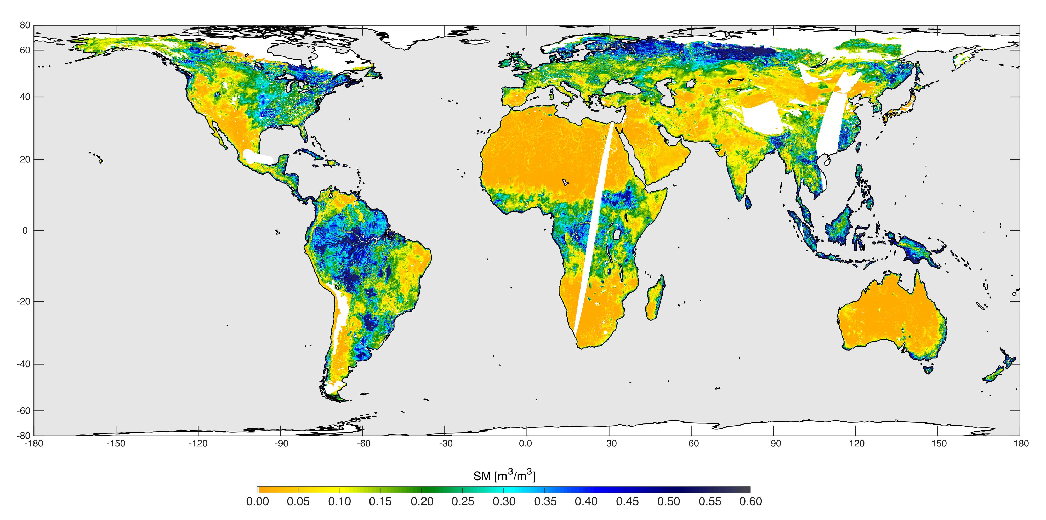 Nasa soil moisture mission begins science operations publicscrutiny Image collections