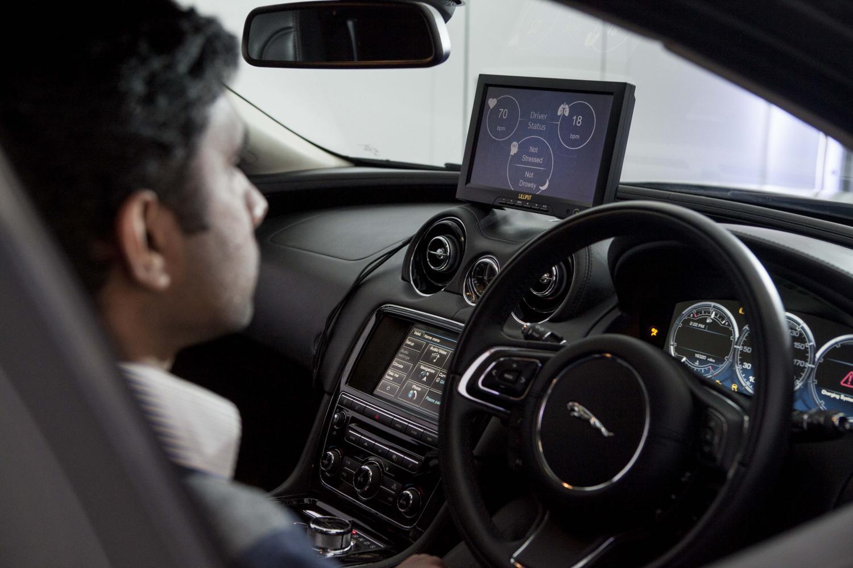 Jaguar Land Rover Tech Has Car Monitoring Driver S Concentration
