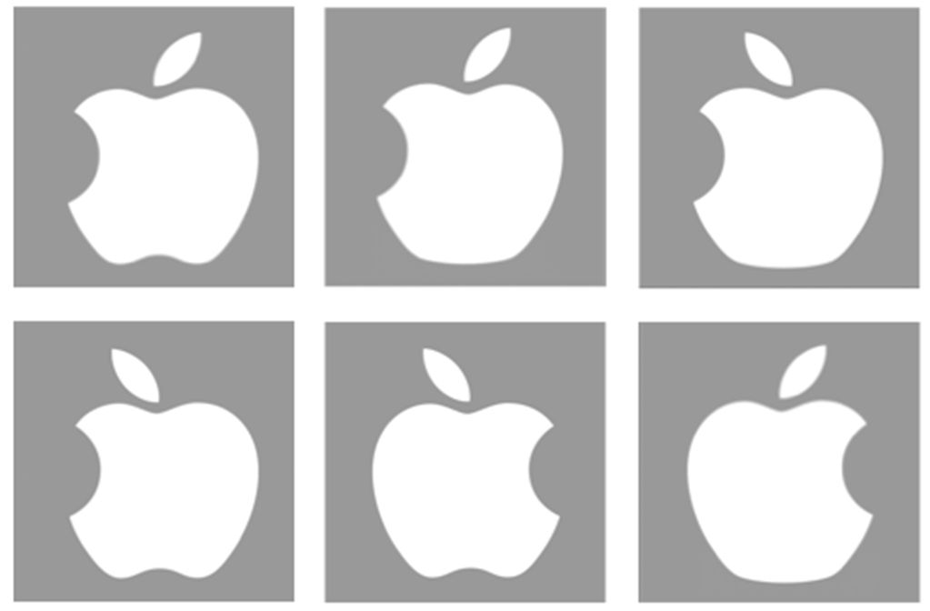 Analysis of the apple logo