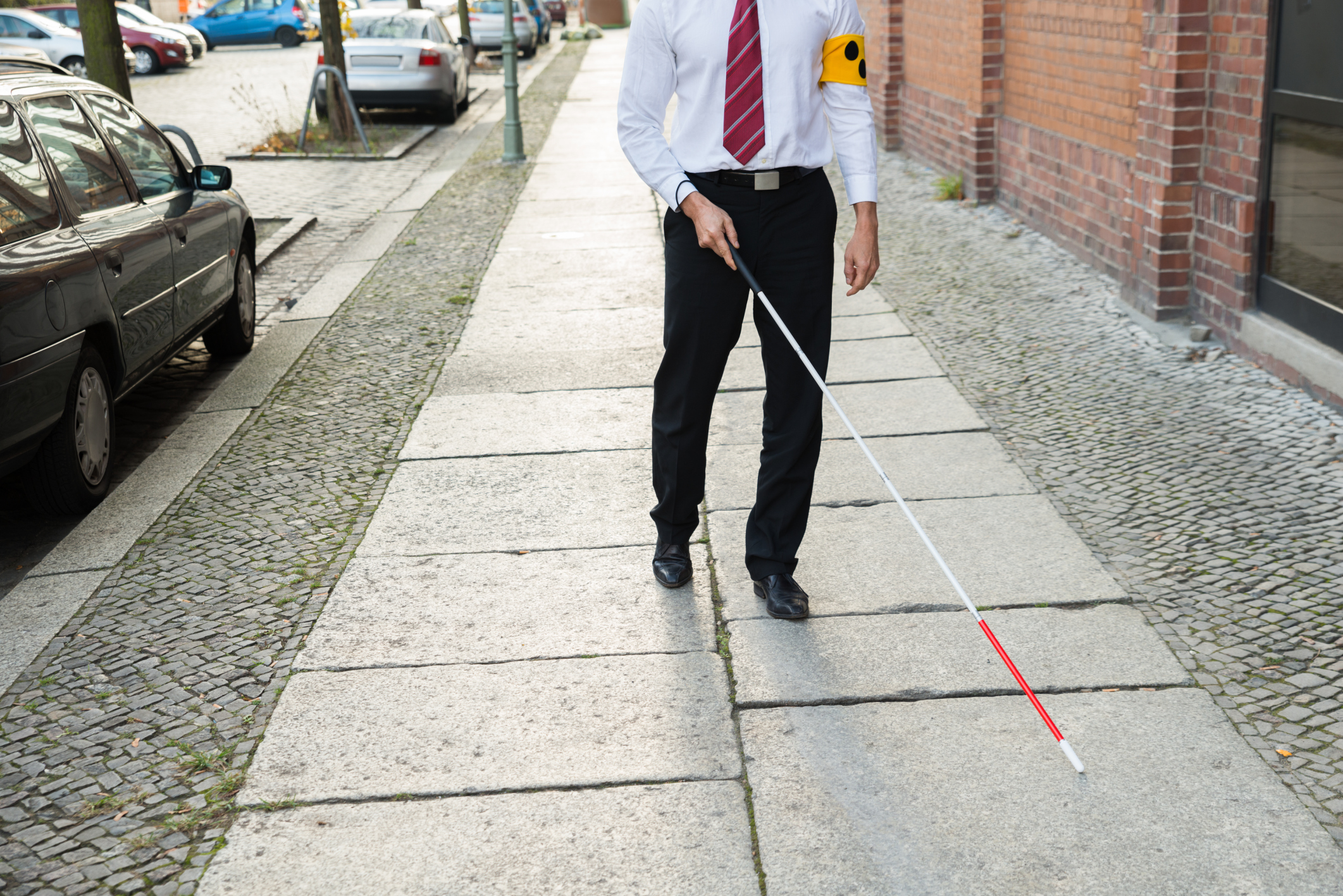pioneering facial recognition cane for the blind