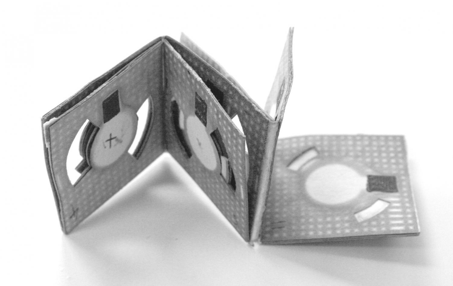 Origami Batteries Like This One Developed By Binghamton University Researcher Seokheun Choi Could Day Power Biosensors For Use In Remote Locations