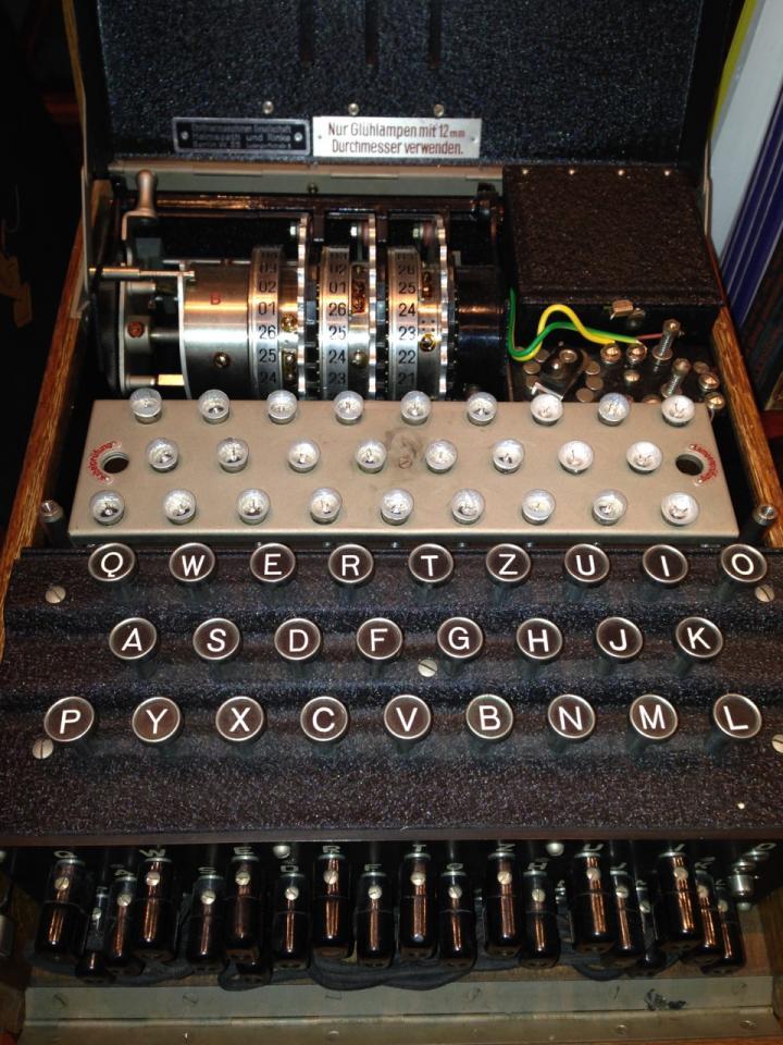 enigma machine ww2
