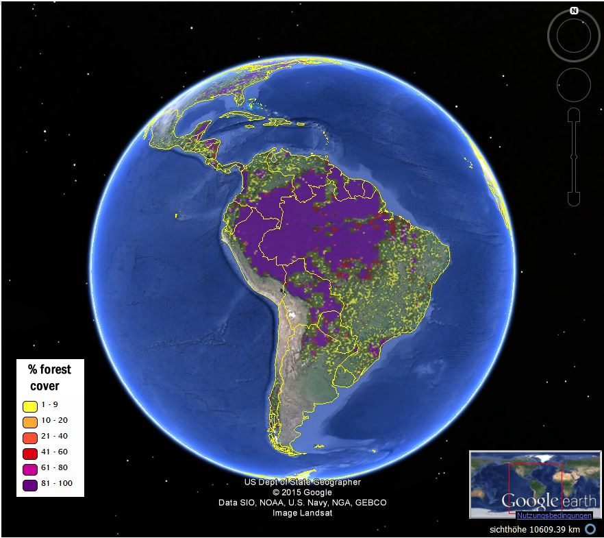 Citizen scientists map global forests