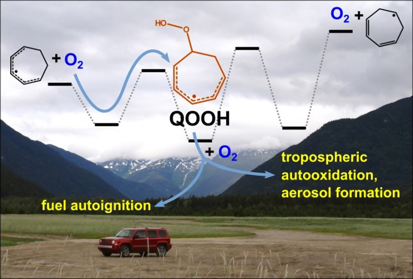 Combustion 39 s mysterious qooh radicals exposed - Simulation direct energie ...