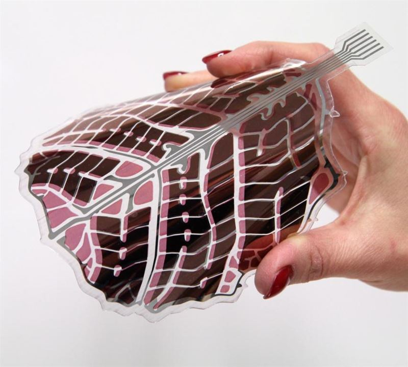 Decorative And Flexible Solar Panels Become Part Of