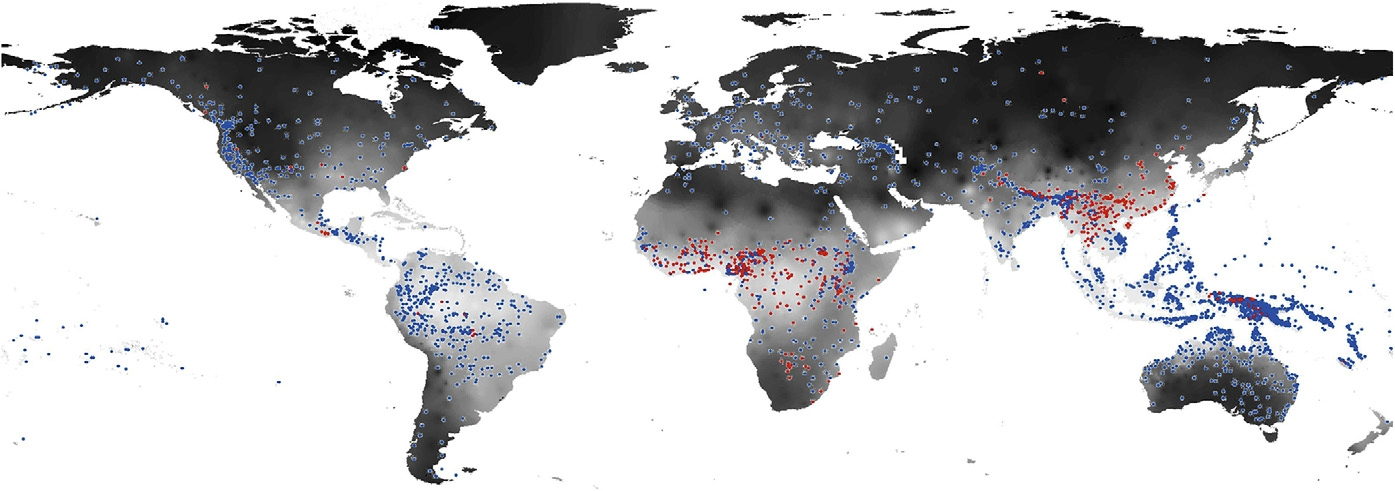 The clime's speech: Data analysis supports prediction that human language is influenced by environmental factors
