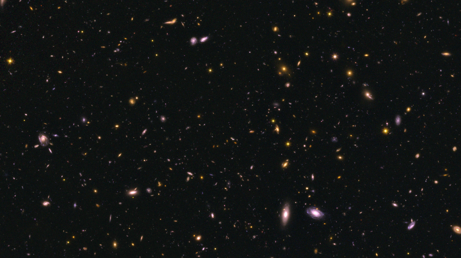 early galaxies more efficient at making stars hubble survey reveals