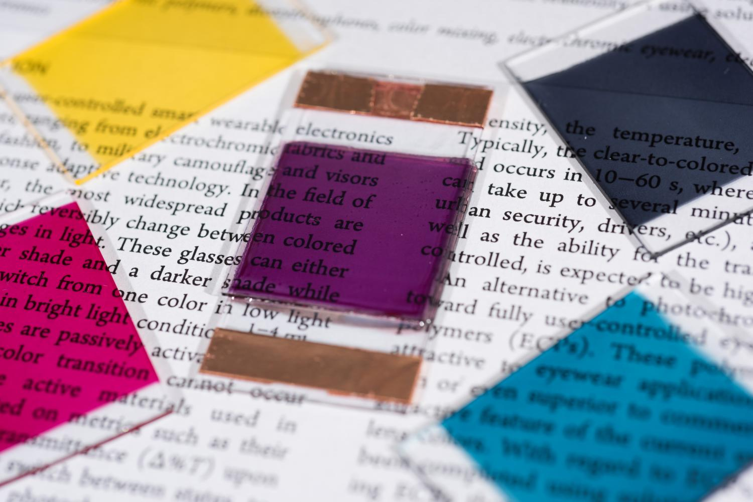 Electrochromic Polymers Create Broad Color Palette For