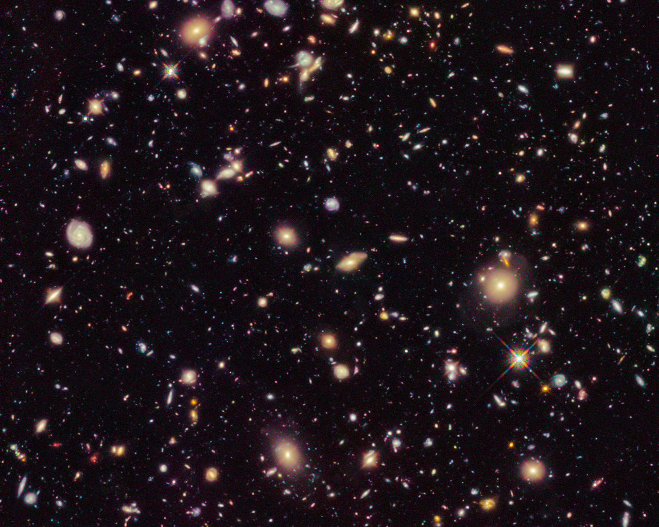 How are galaxies moving away faster than light?