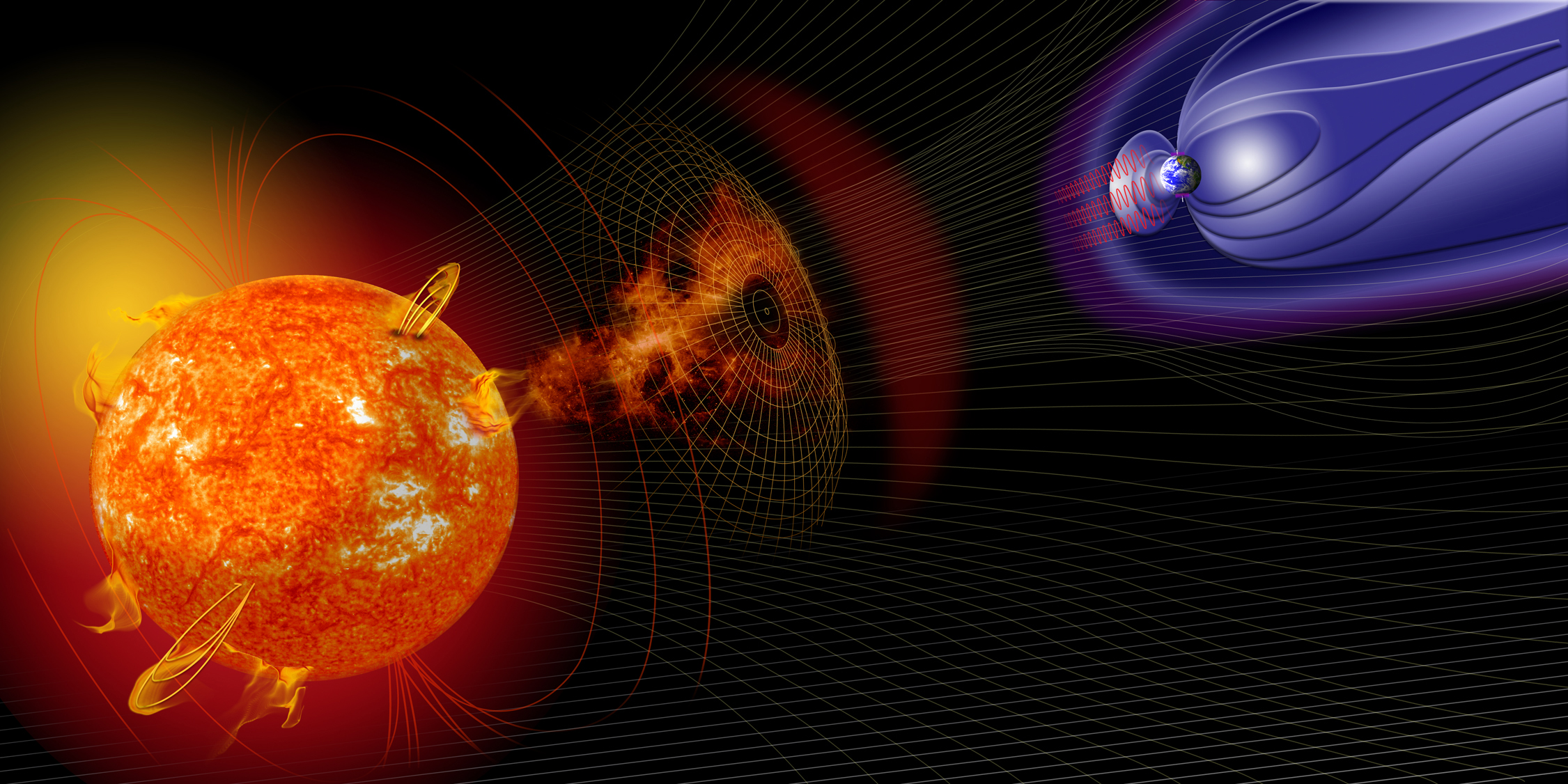 geomagnetic storms These storms could affect power grids, blacking out entire cities, impeding radio communications so should we worry that an extreme cme could cause a very powerful geomagnetic storm, resulting in.