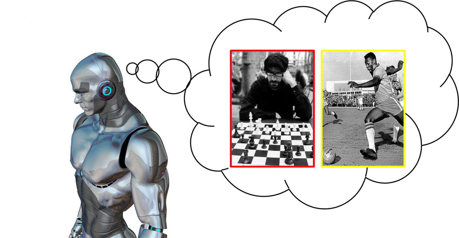 brains help organisms learn new skills out forgetting old skills thinking robot pixabay user drsjs chess player jeffrey barke peleacute playing soccer by afp scanpi