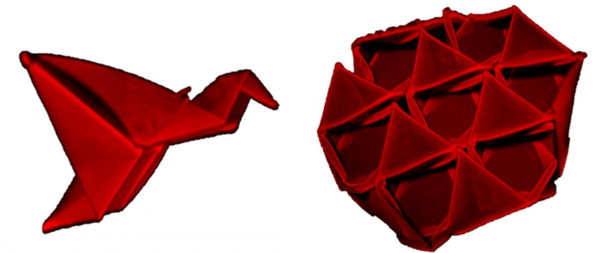Moving Origami Techniques Forward For Self Folding 3 D Structures