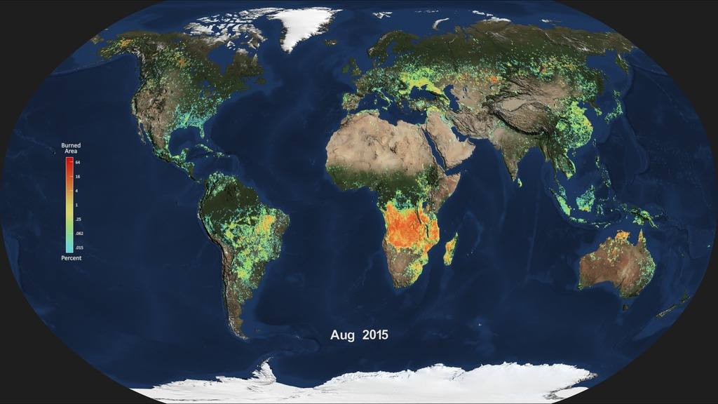 Examines Global Impacts Of The El Nino - World map online satellite 2015