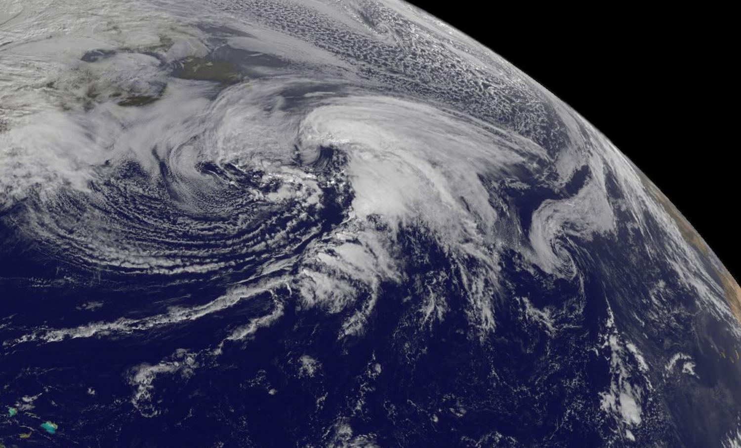 nasa spies extra tropical storm kate racing through north atlantic. Black Bedroom Furniture Sets. Home Design Ideas