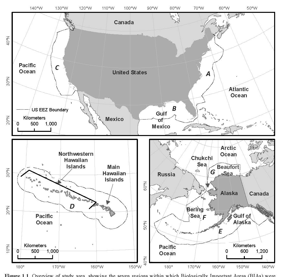 Tool Aids US Conservation And Management Of Whales Dolphins And - Us waters map