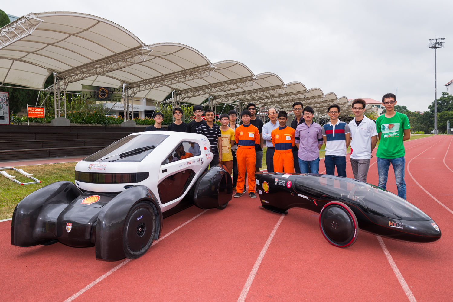 NTU unveils Singapore\'s first 3-D printed concept car