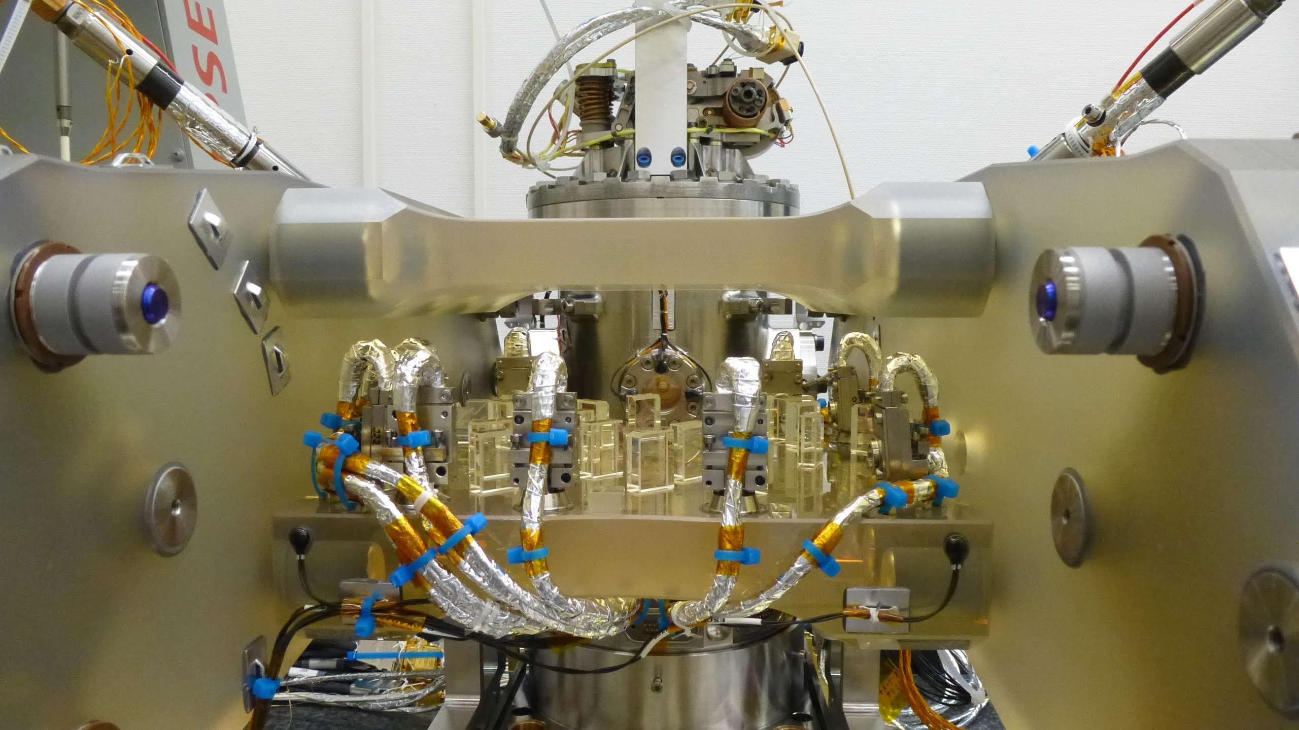 Image: Optical bench of LISA P...