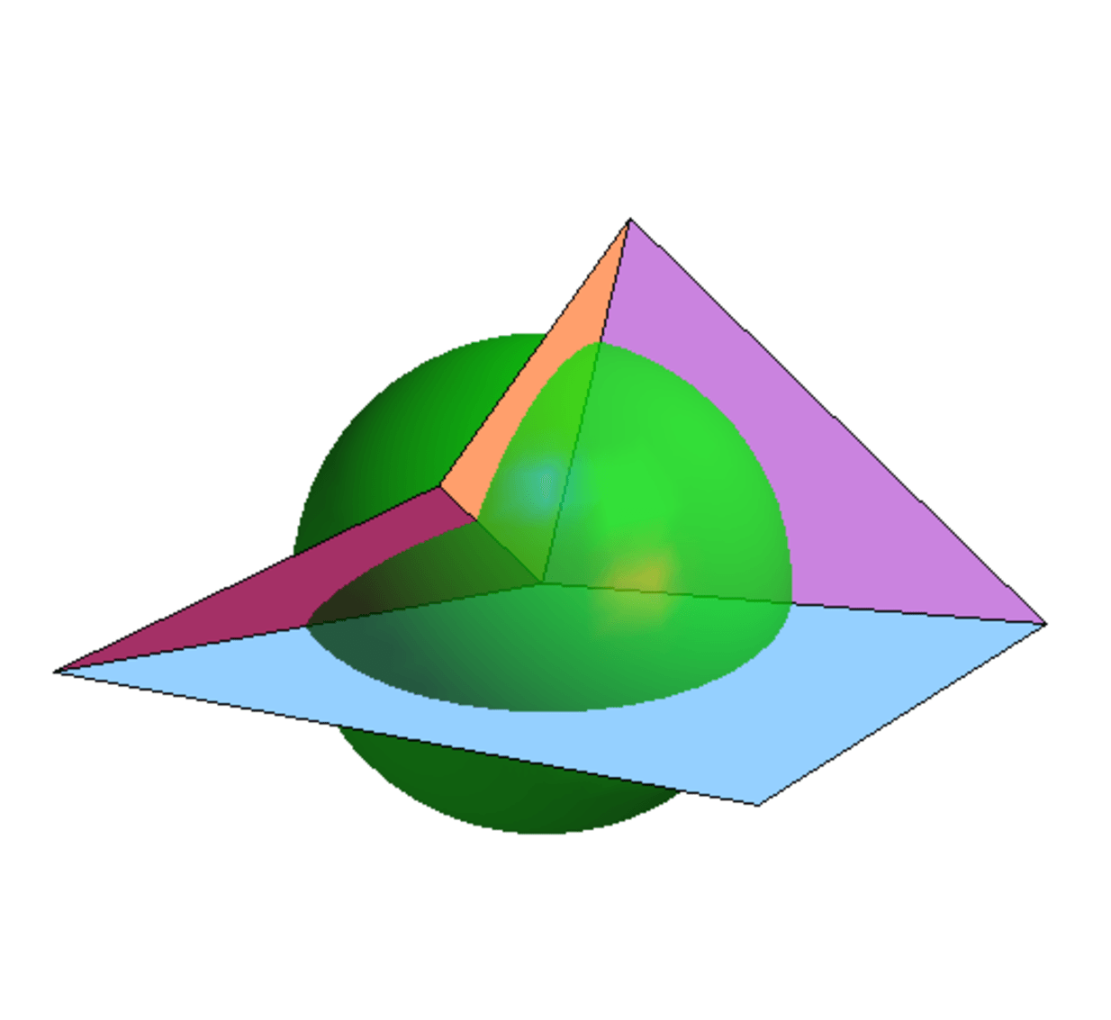 Mathematics in creasing a mathematical simulation of a single vertex folding with its projection onto a sphere credit tom hull jeuxipadfo Image collections