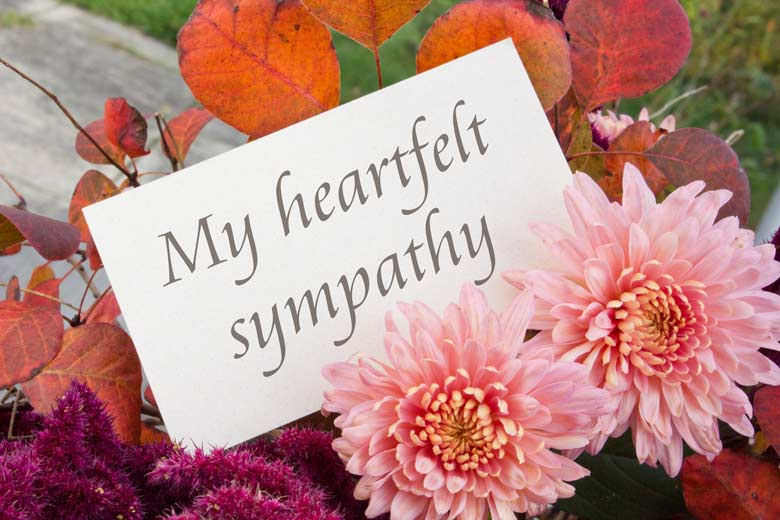 people from different cultures express sympathy differently say