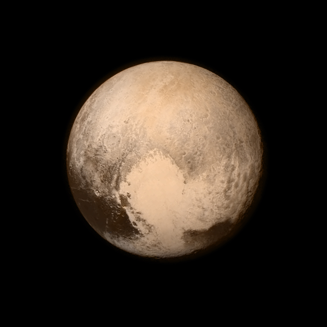 Pluto new pictures horizons