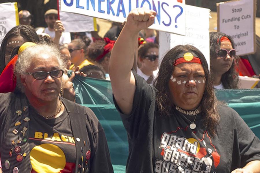 racism with aboriginal