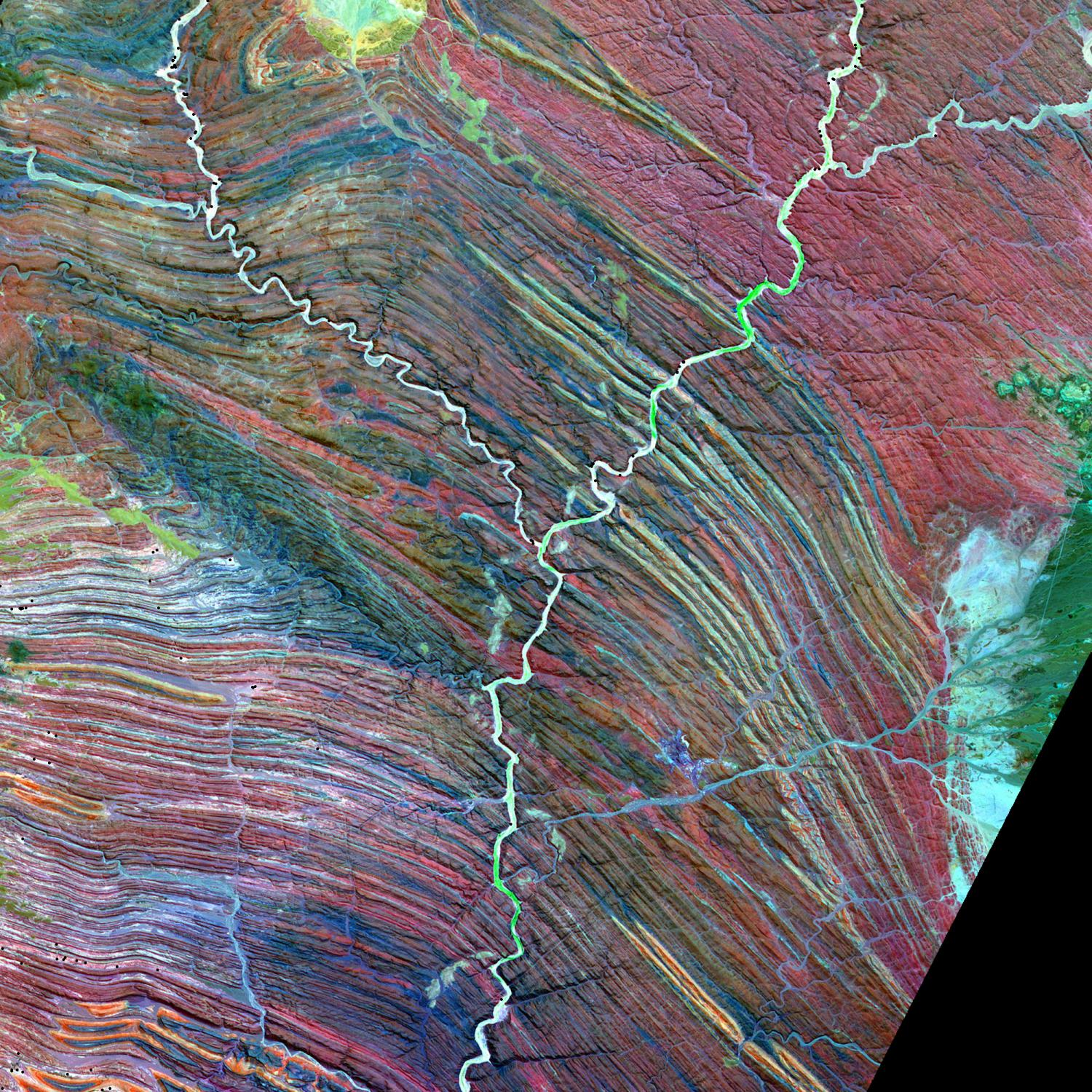 NASA Image Reading The Alphabet From Space - Us map day nasa
