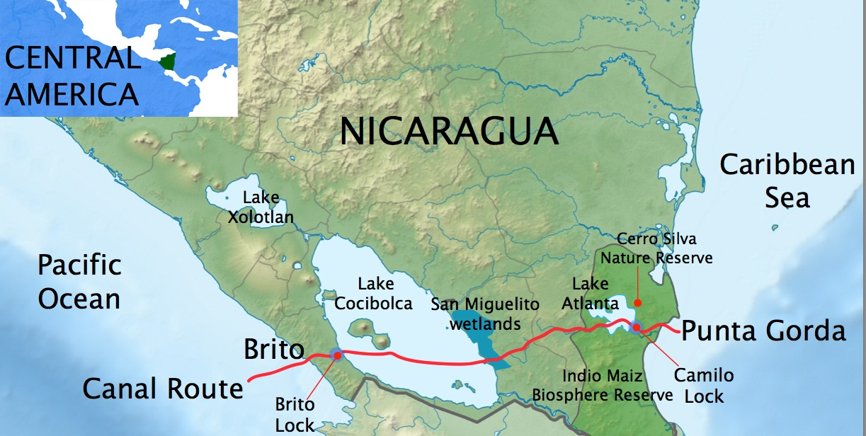 question rush to build Nicaragua canal