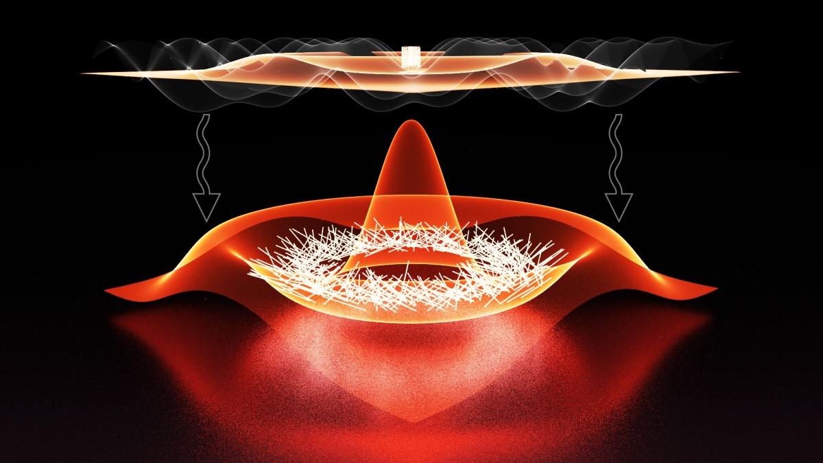 Shaking bosons into fermions