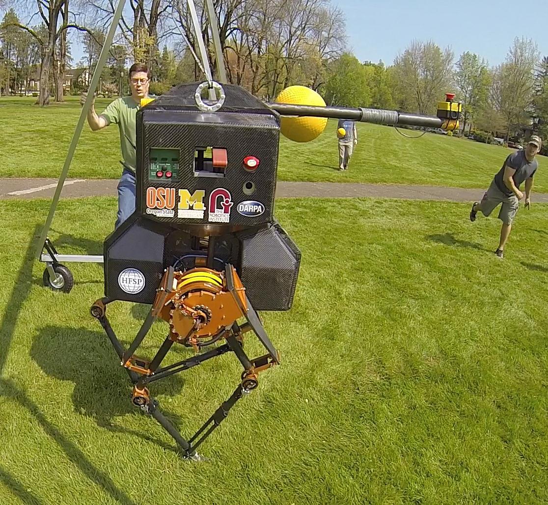 Spring Mass Technology Heralds The Future Of Walking Robots