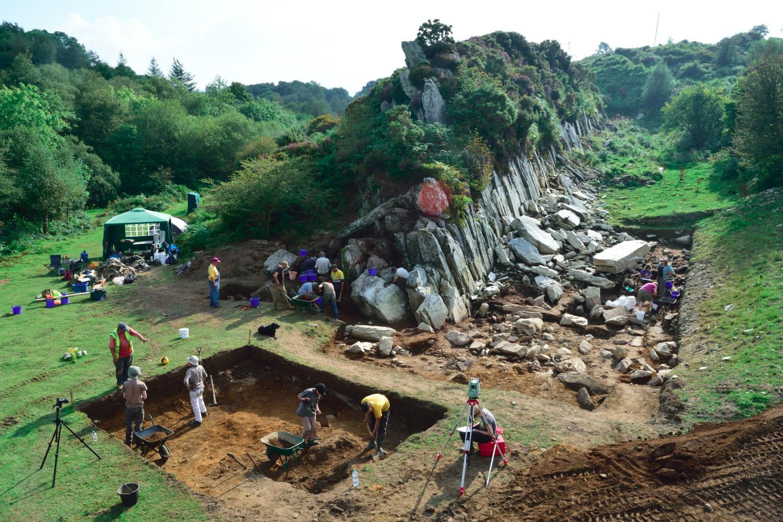 preseli hills quarry in Pembrokeshire