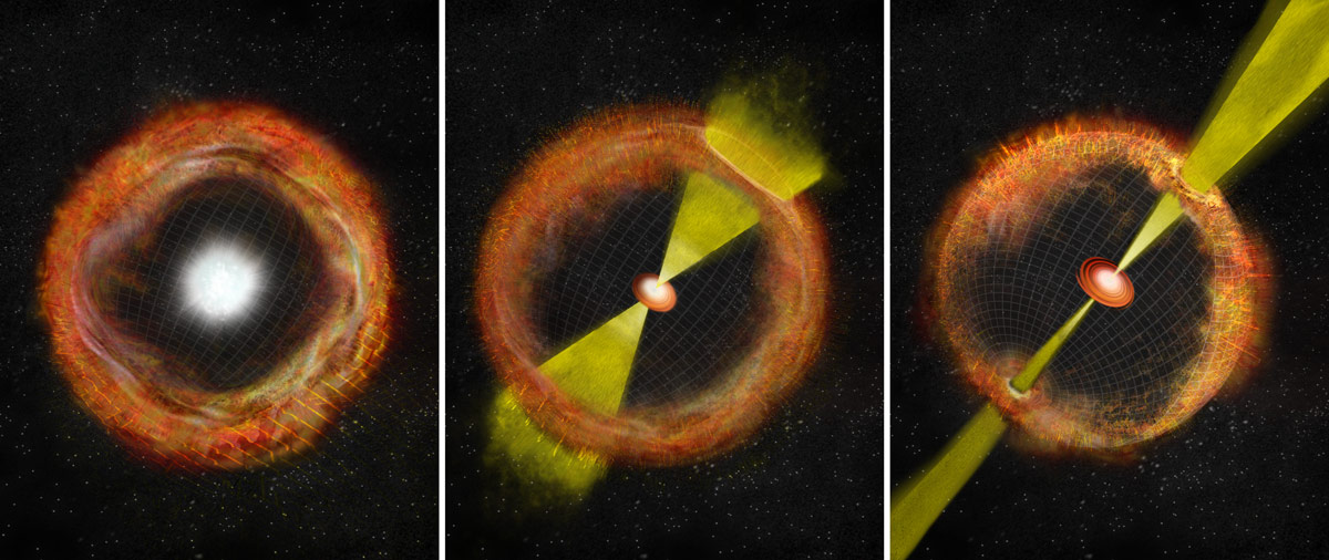 Supernova Is Missing Link In Gamma Ray Burst Connection