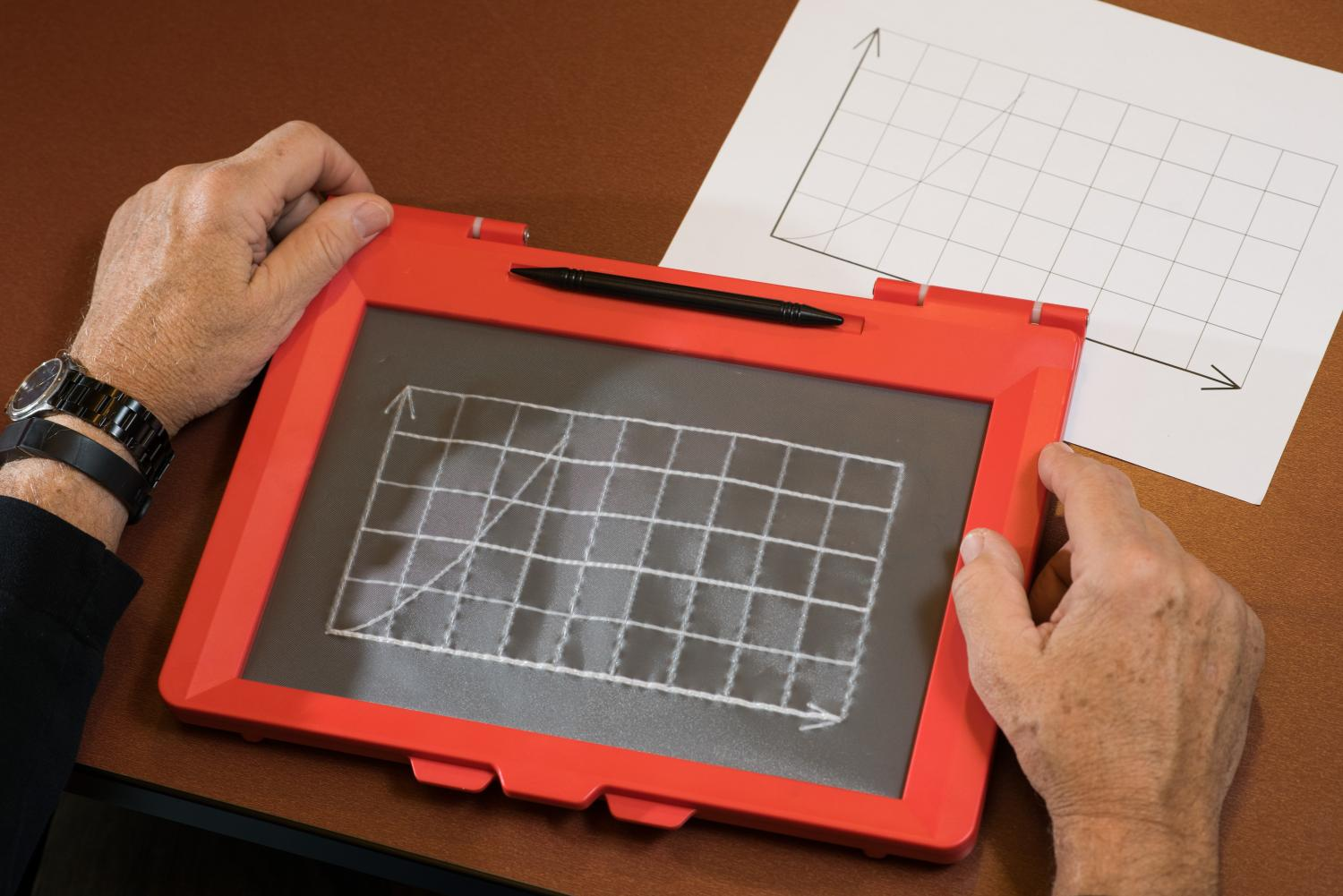 Teaching the blind to draw—and do STEM