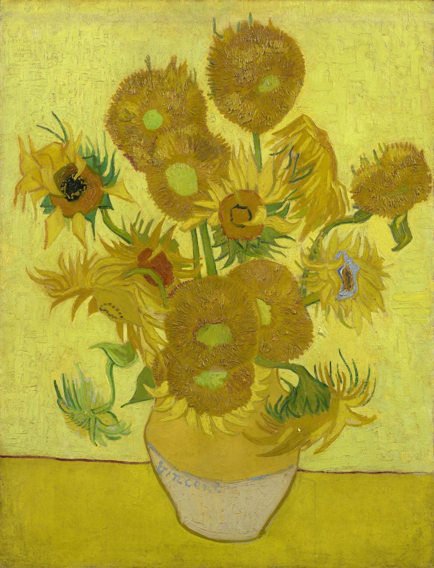 Van goghs sunflowers are wilting sunflowers 1889 vincent van gogh 1853 1890 credit van gogh museum amsterdam vincent van gogh foundation reviewsmspy