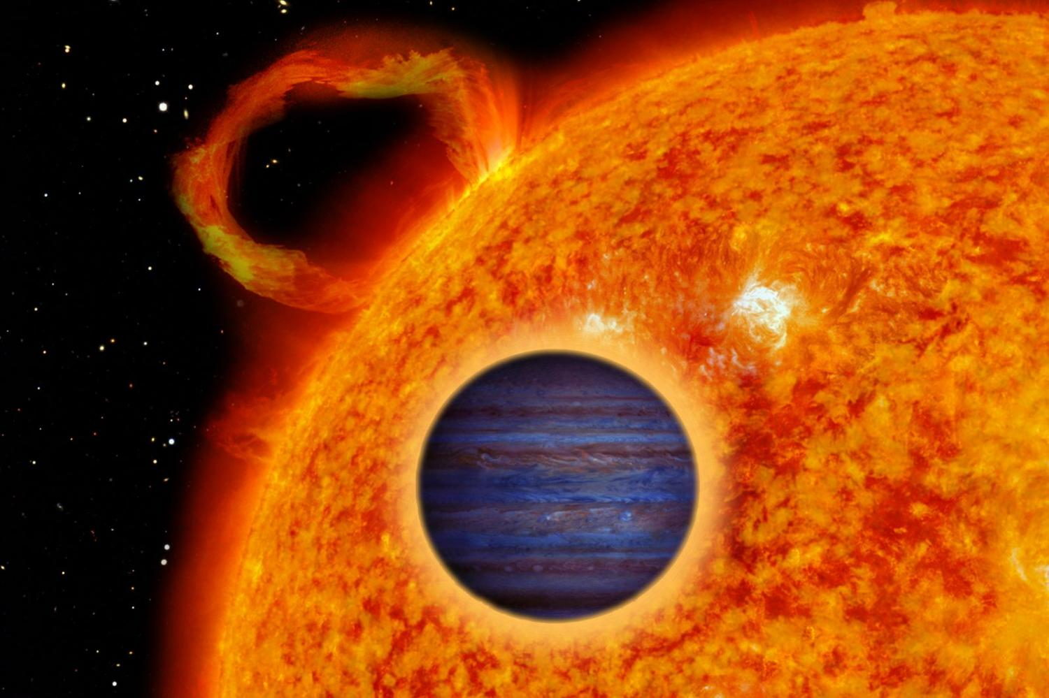 Astronomers Discover Two New  U0026 39 Hot Jupiter U0026 39  Exoplanets