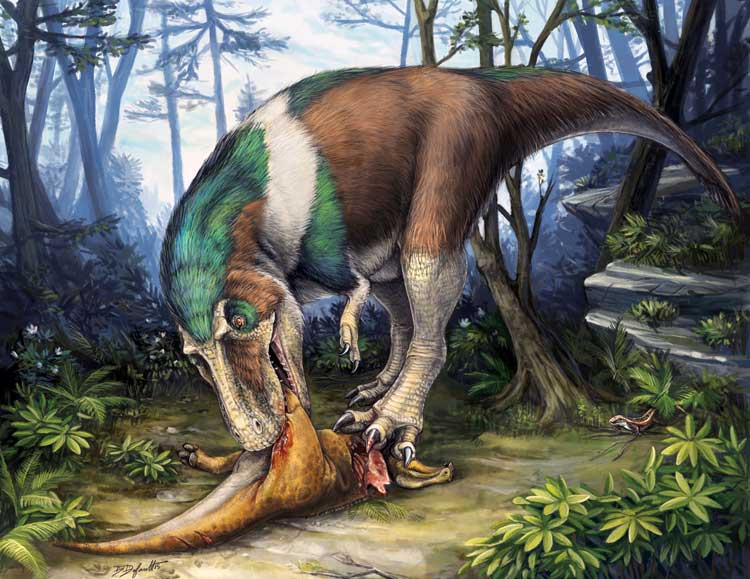 The Dinosaur That Most Shows Its Age In Is Spinosaurus Shown Here Full Carnosaur Garb With Allosaurus Like Head Four Fingered Hand