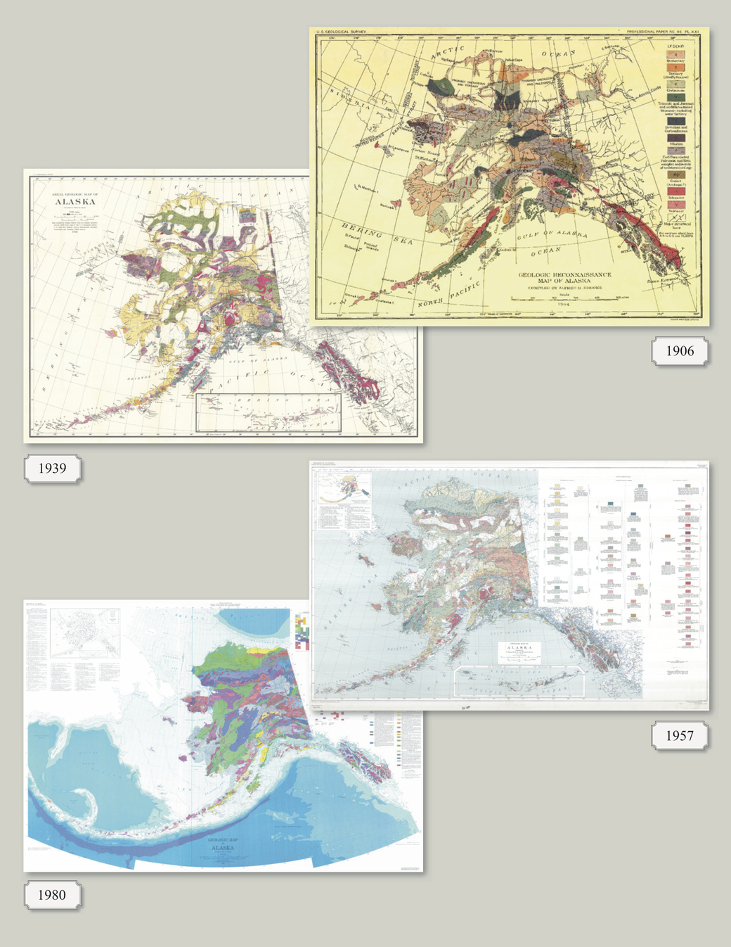 We Used A Century Of Data To Create A Modern Digital Geologic Map - Early us geological mapping