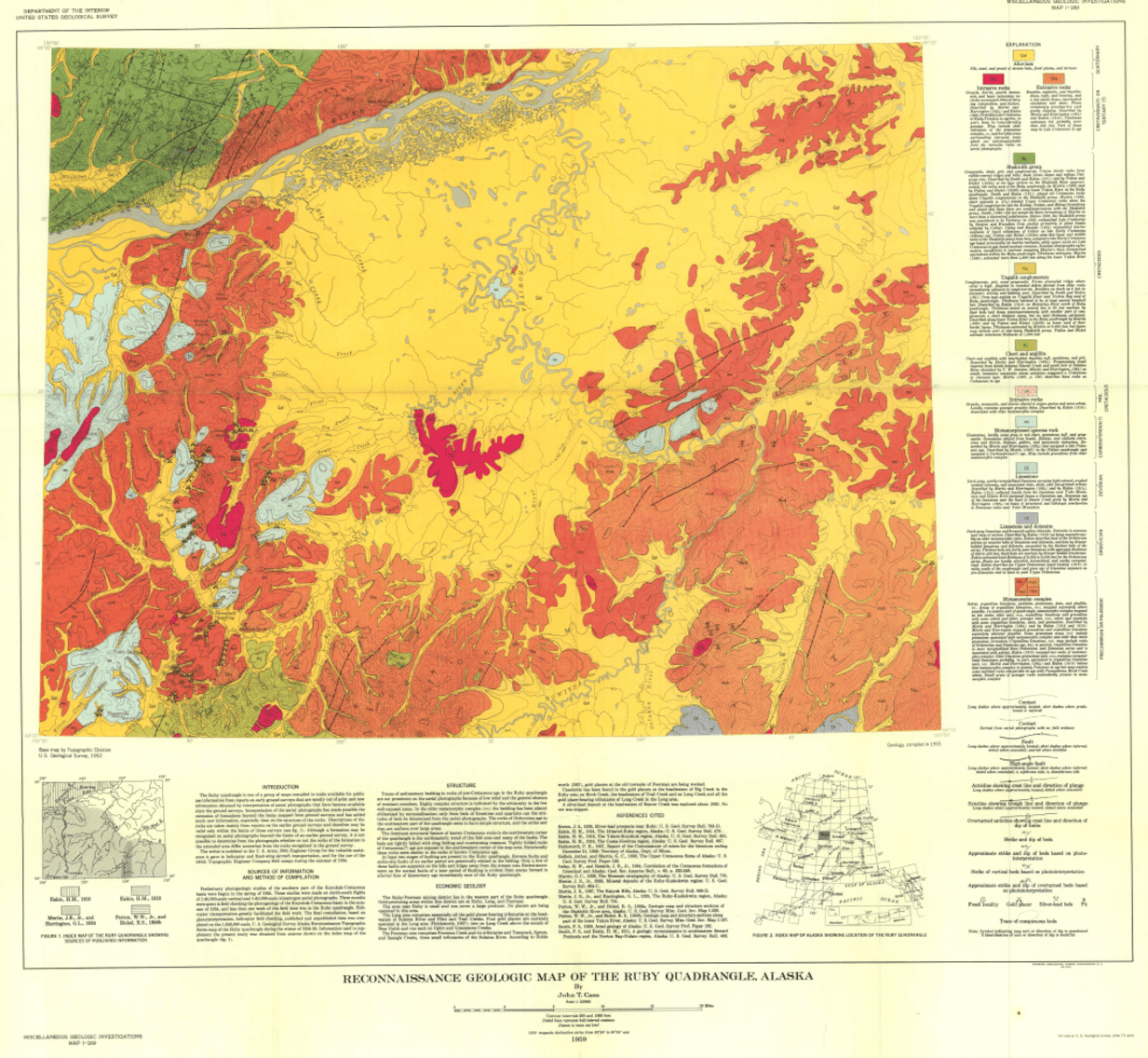 How we used a century of data to create a modern digital geologic