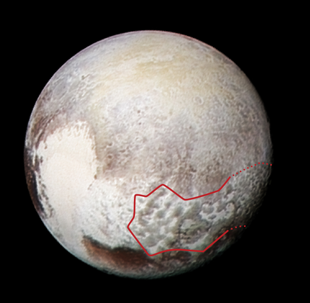 pluto planet recent news with 2016 04 Image Pluto Bladed Terrain D on The Solar System 311011581 also 135623075 as well 2015 10 Earth Core Billion Years additionally 2013 03 Moon Nearestneighbour likewise Journal.
