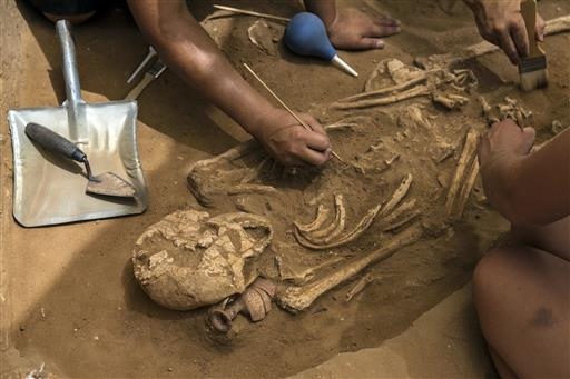 Israel find may help solve mystery of biblical Philistines